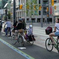 Включился зелёный! (на велодорожке в Торонто). :: Юрий Поляков