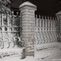 снежная ночь :: Надежда Кузнецова