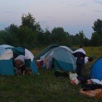 наш лагерь - на сплаве :: Александр Прокудин