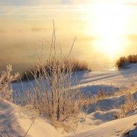 на замерзающем озере :: sergej-smv