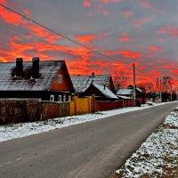 Горит  сегодня  небо... :: Валера39 Василевский.