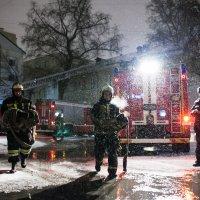 Пожар в Таганском суде :: alex_belkin Алексей Белкин
