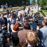Интервью губернатора ХМАО-Югры Н.В. Комаровой :: Павел Белоус
