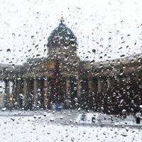 Вечерний снег... :: Александр Петров