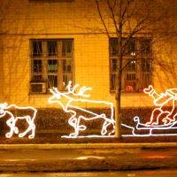 Новогоднее украшение города. :: Борис Митрохин