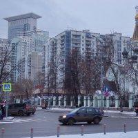 Москва.Зимний день уходящего года. :: Лара ***