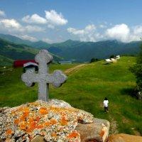 Крест в горах :: Мария Коледа
