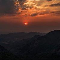 Закат на Гоа...Индия. :: Александр Вивчарик