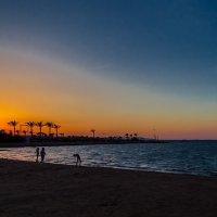 пляж и закат :: maxihelga ..............