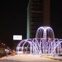 фонтан,световой, :: Наталья Золотых-Сибирская