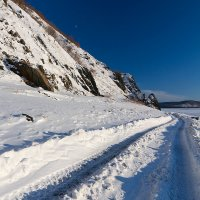 Зимний берег Амура. :: Поток