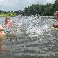 на реке Великая. :: михаил скоморохов