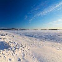 Амур.Зимний пейзаж. :: Поток