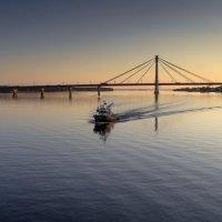 Череповецкий вантовый мост :: Valeriy Piterskiy