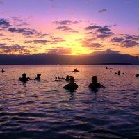 Рассвет на Мертвом море... :: Рустам Илалов