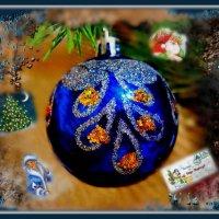 Под скрип снежка и запах елки, войдет к нам в двери Новый год... :: Людмила Богданова (Скачко)