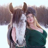 Боярыня и лошадь :: Анна Журавлева