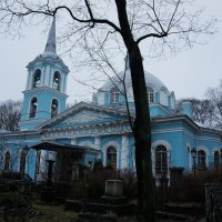 Церковь Иконы Божией Матери Смоленская на Смоленском кладбище. :: Елена Павлова (Смолова)