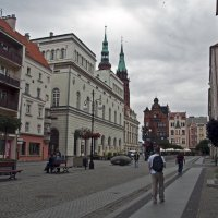 Polish street :: Roman Ilnytskyi