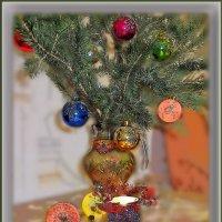 Под новый год в душе тепло,  и вера в счастье и мечты. :: Людмила Богданова (Скачко)