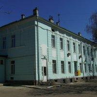 Почтовое  здание  в  Ивано - Франковске :: Андрей  Васильевич Коляскин
