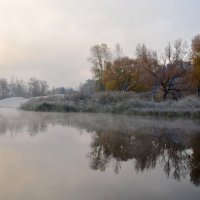 Утро туманное, утро морозное :: Валентина Данилова