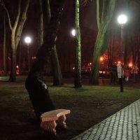 Когда в парке вечер.. :: Юрий Анипов