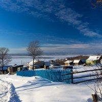 Село Верхняя Эконь. :: Поток