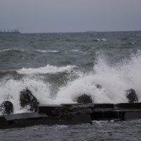 Зимний шторм на Балтике. :: Максим Воробьев