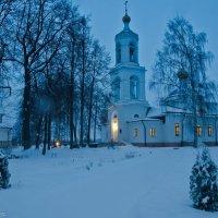 Утренний храм. :: Виктор Евстратов