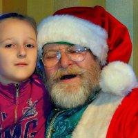 С любимым дедушкой :: Ростислав
