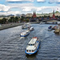 На Москве реке. Фото 2. :: Вячеслав Касаткин