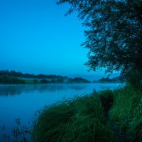 Вечер у реки :: Анна Катаева