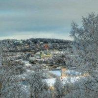 Городской зимний пейзаж :: Милешкин Владимир Алексеевич