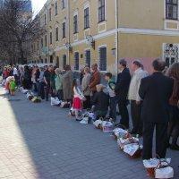 Праздник  Пасхи  в  Ивано - Франковске :: Андрей  Васильевич Коляскин