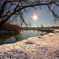 Декабрьский снег на фоне Десны :: Евгений Дубовцев