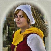 Портрет средневековой незнакомки-3 :: Shmual Hava Retro