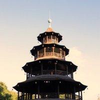 Chinesische Turm в Энглишгартене :: Olga