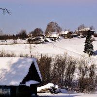 Зима в деревне :: Татьяна Захарова