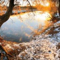 Золотой рассвет декабря...3. :: Андрей Войцехов