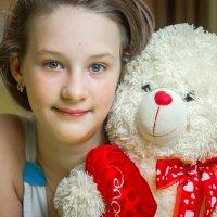 про Катю и медведя... :: Евгений Осипов