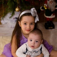 Детки под Рождество. :: Инта