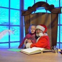 В кабинете Деда мороза! :: Ростислав