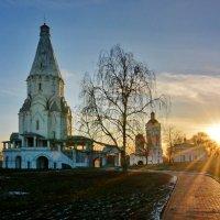 катилось солнце к горизонту :: Леонид Иванчук