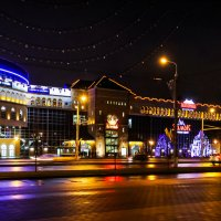 Минск в ожидании зимы и Нового года. :: Nonna