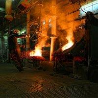 Разлив металла... :: Виктор Перякин