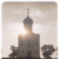 Храм Покрова на Нерли 1973 :: Цветков Виктор Васильевич