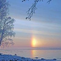 Рассвет на Ладоге :: Валентина Харламова