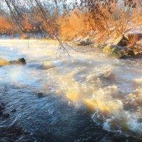 Рассвет зимней реки...2. :: Андрей Войцехов