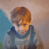 Мой маленький сосед снизу. :: Алексей Хаустов